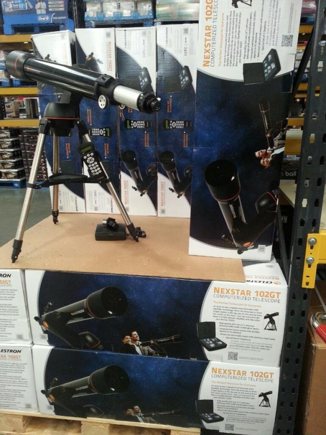 Telescope in Costco