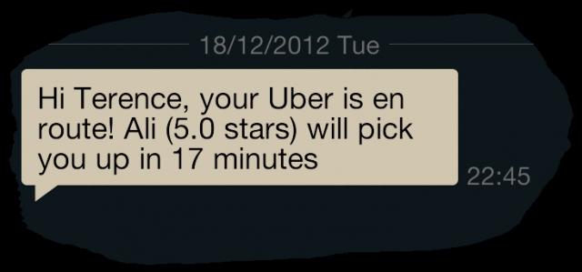 Uber long wait