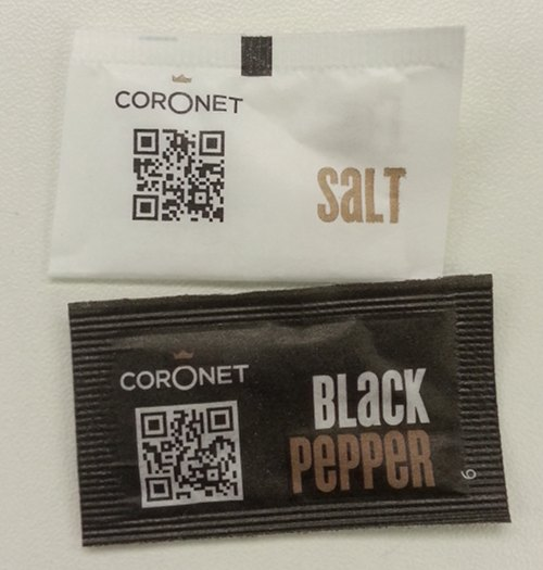 Salt and Pepper QR Codes