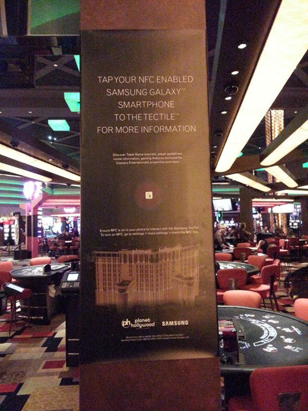 NFC Poster Planet Hollywood Las Vegas