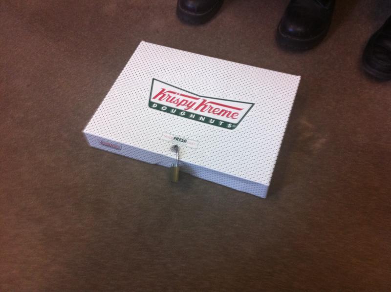 Padlocked Donuts as a DRM metaphor
