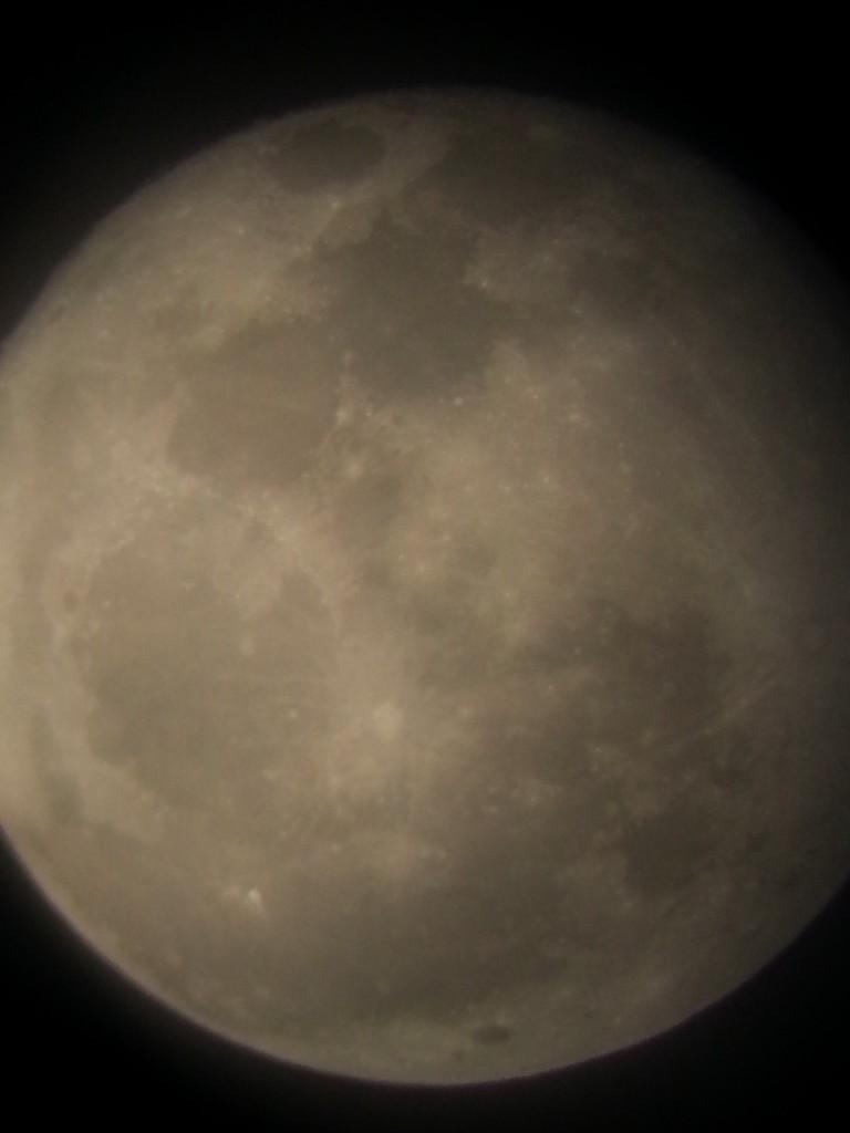 Full Moon Zoomed In