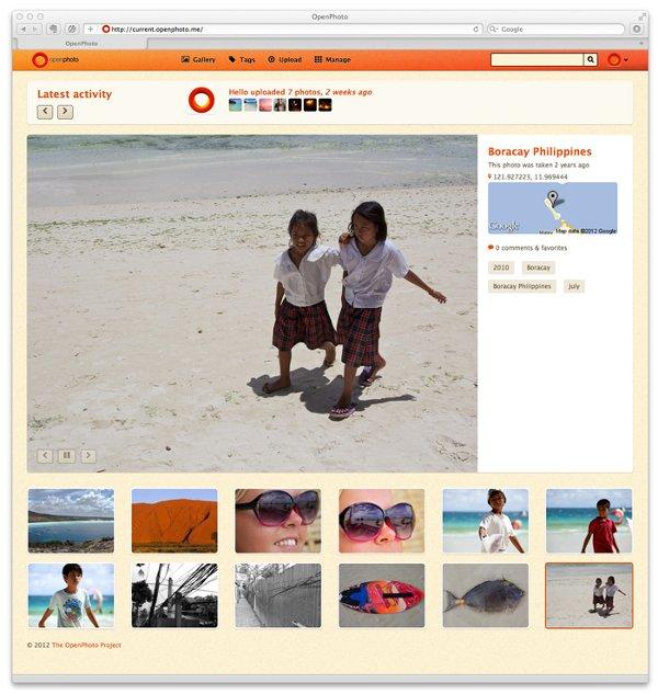 openphoto web-home