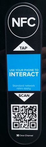 Clear Channel NFC QR