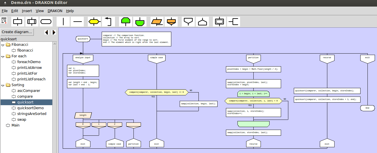 Use drakon to generate code from flowcharts terence eden s blog