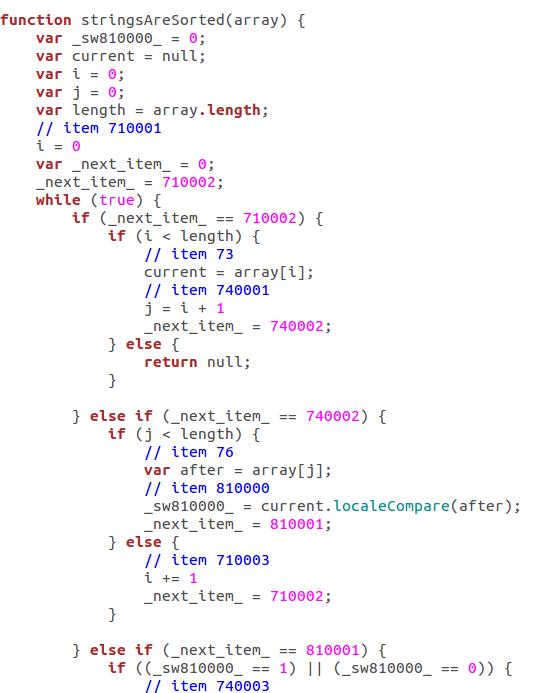 Drakon Generate JavaScript-fs8