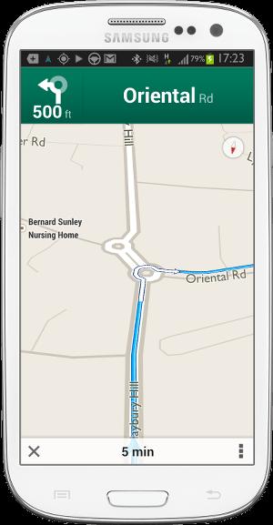 Google Maps Roundabout-fs8