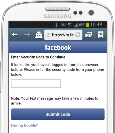 Facebook Enter 2FA Code-fs8