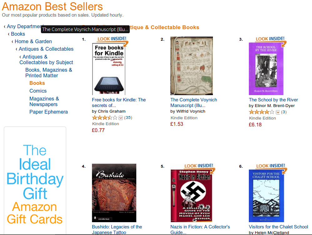 How To Crack Amazon's Kindle Best Seller List? Sell 4 Books