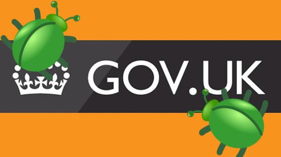 Gov UK Bugs