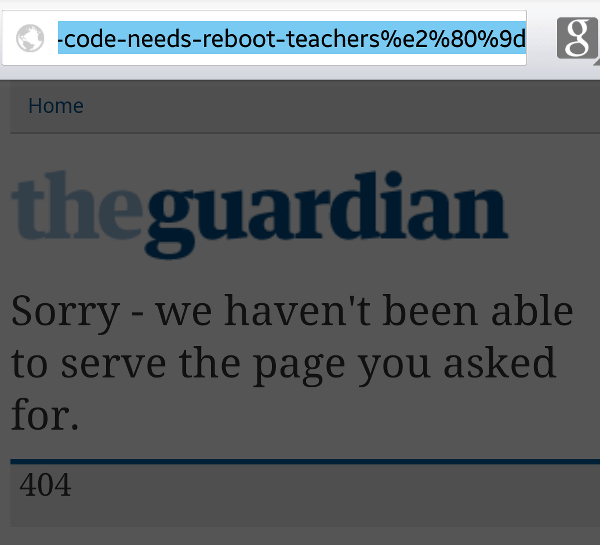 Guardian 404 Error-fs8