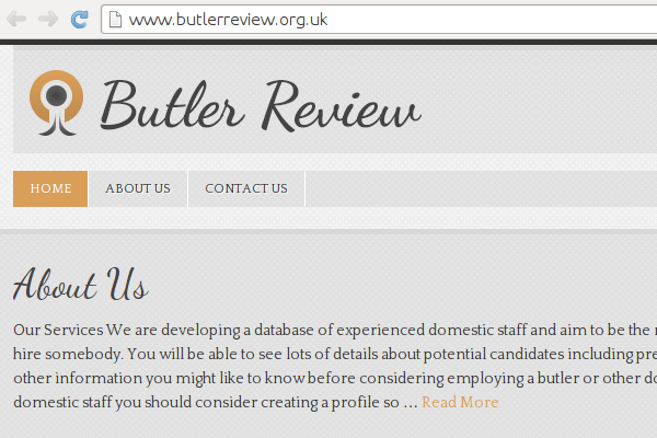 Butler Review Spam