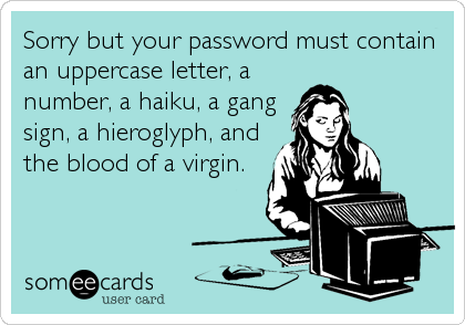 Password Must Contain