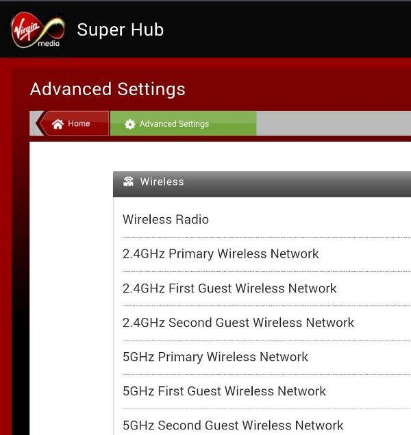 Virgin Guest Network
