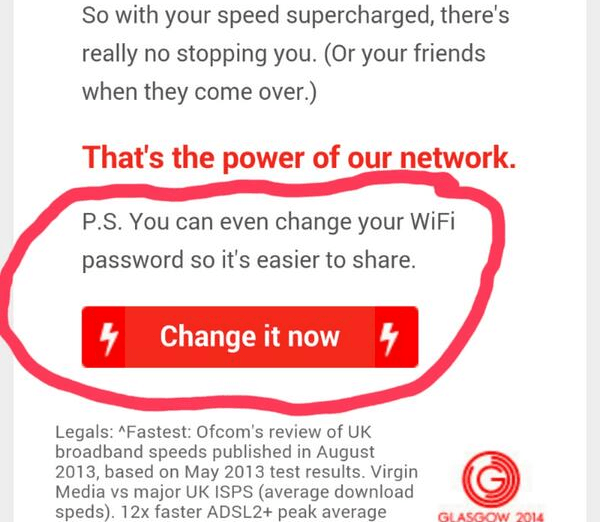 P.S. You can even change your WiFi password so it's easier to share.