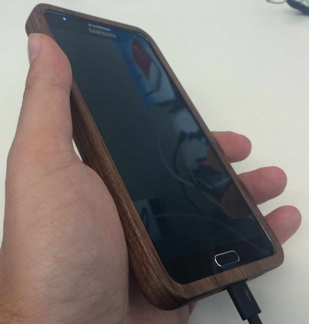 Bamboo Case In Hand