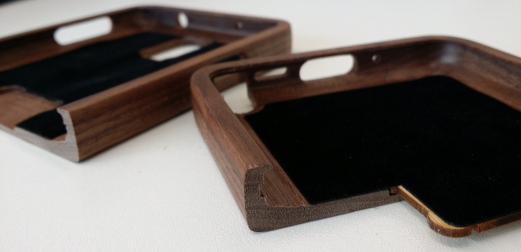 Bamboo Case Inside Detail