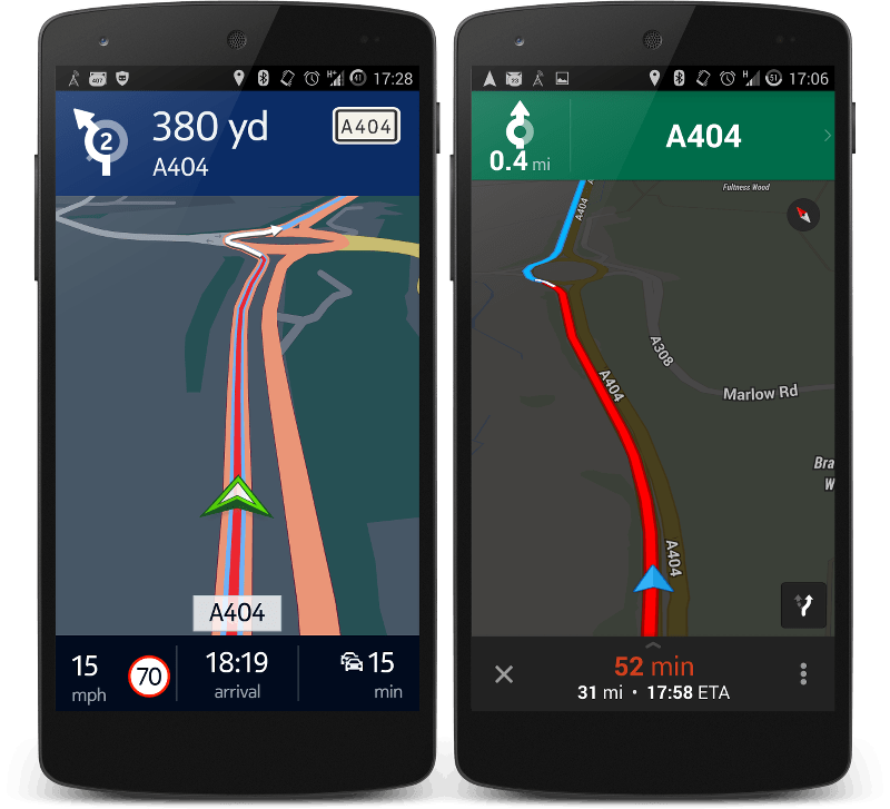 Nokia Here vs Google Maps