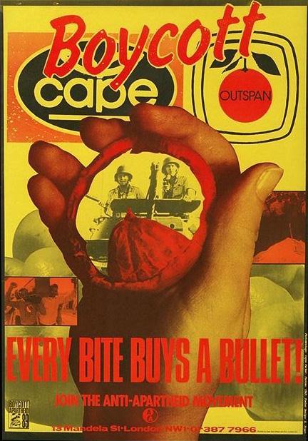 boycott cape poster