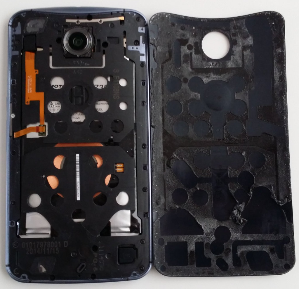 Motorola Nexus 6 Back Off