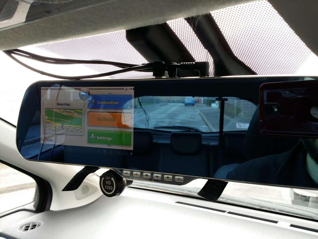 DashCam Screen