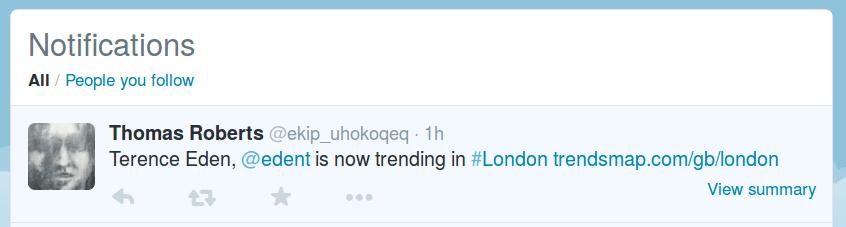 Twitter Spam Trending-fs8