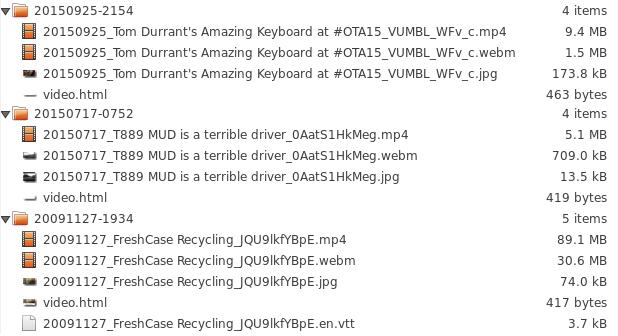 YT Output folders-fs8