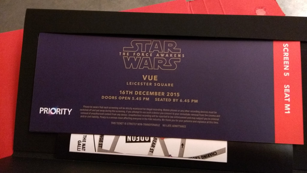 Star Wars Tickets