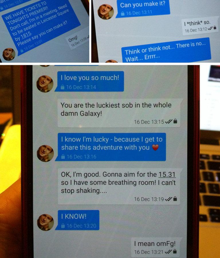Texts with Liz