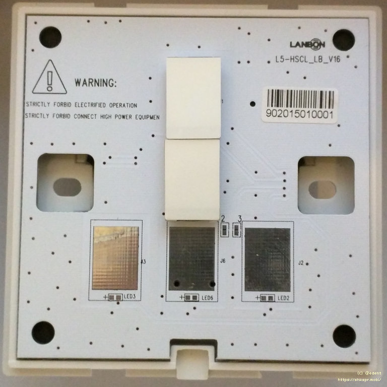 Lanbon Wifi Light Switch Under The Cover-