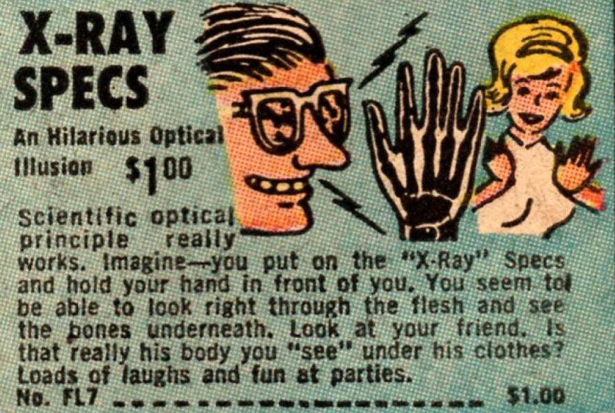 XRay Spex advert