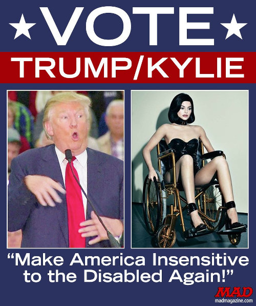 Make America Insensitive to the Disabled Again