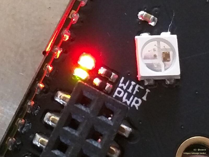 ReSpeaker WiFi and Power LEDs