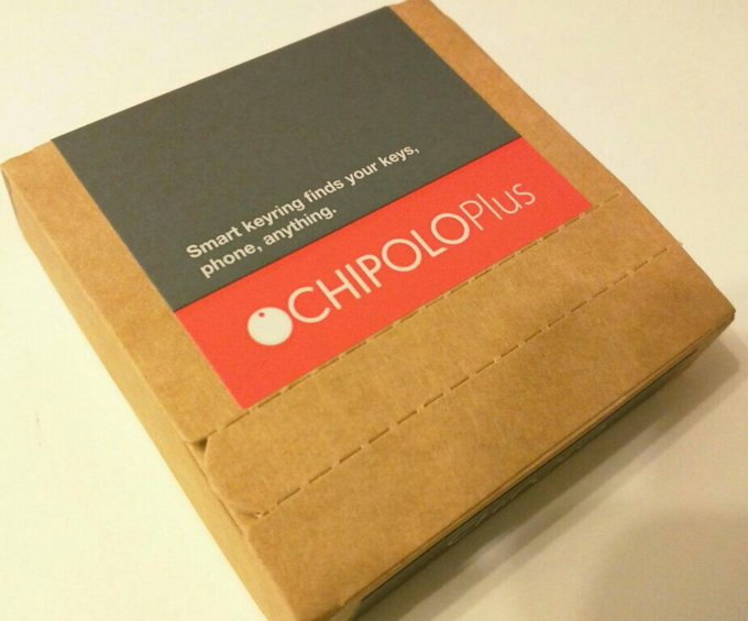 chipolo plus in plain packaging