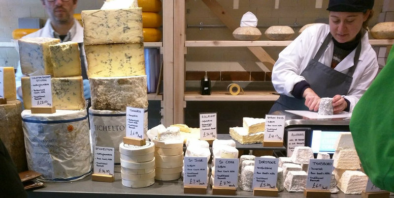 jericho cheese have a counter full of delicious cheeses