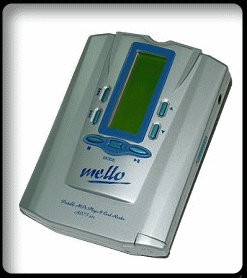 A cheap MP3 player from the early 2000s