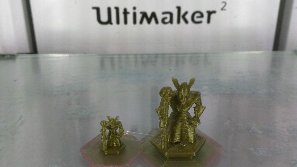 3D printed board pieces