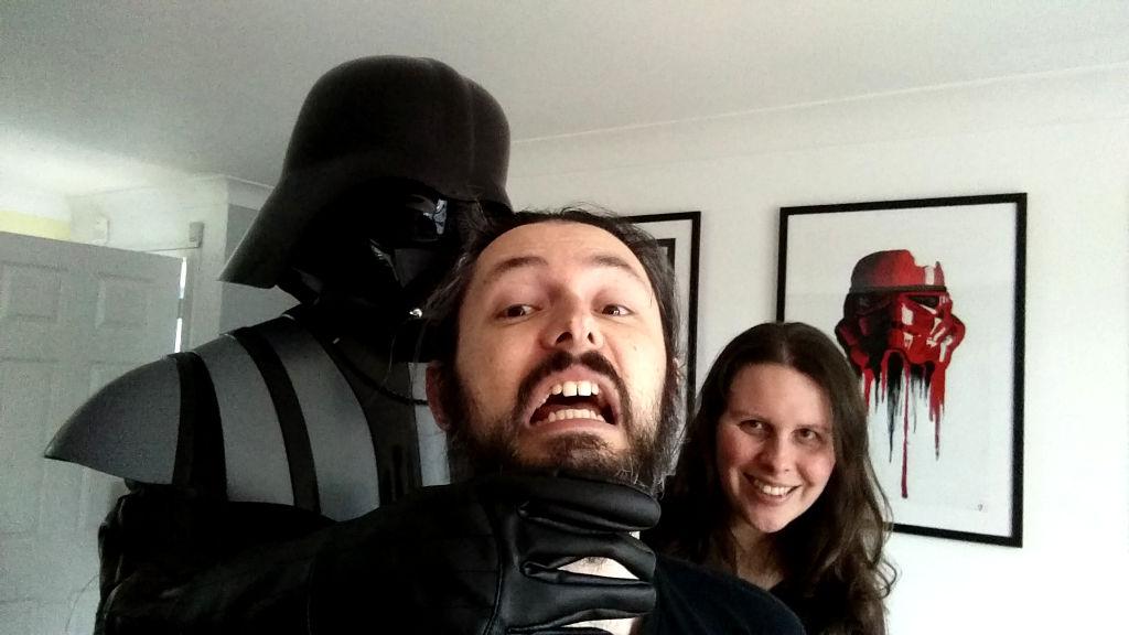 Vader strangling me