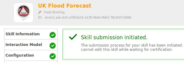 A skill submission form