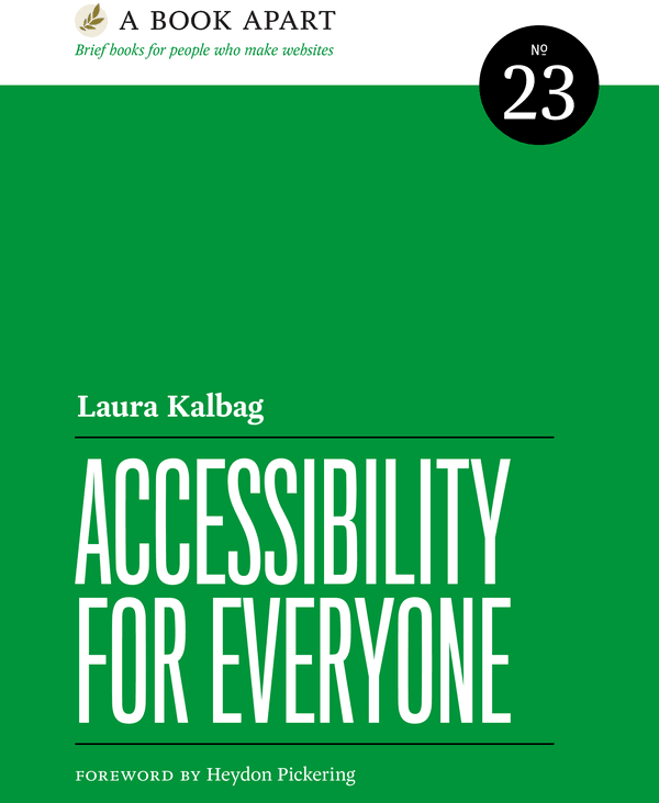Accessibility for Everyone book cover