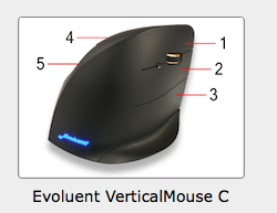 Evoluent Mouse Buttons