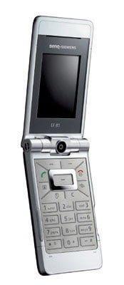 A Benq flip phone.