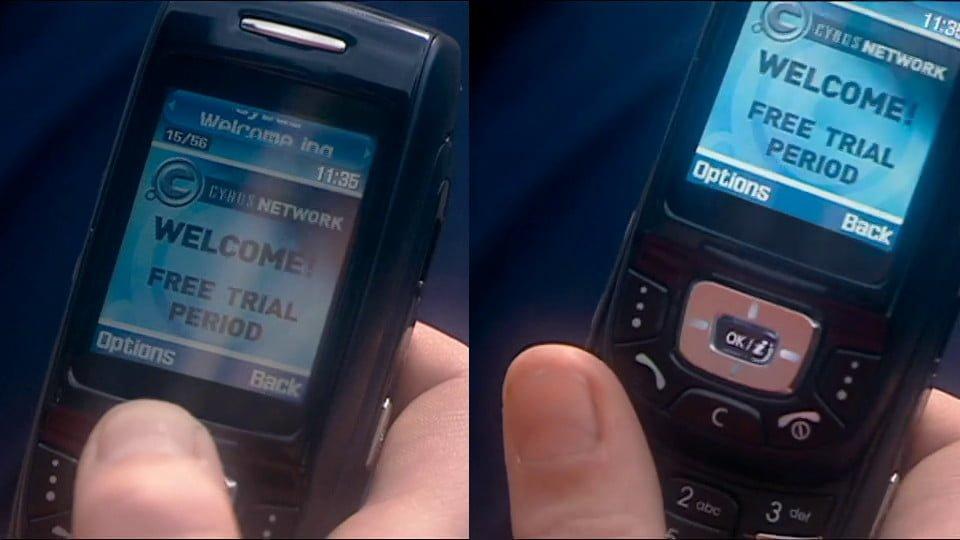 Slider phone.