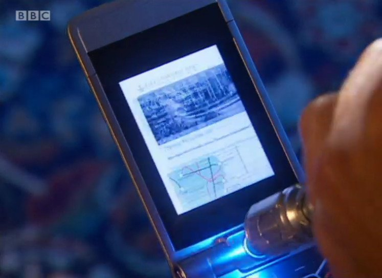 Doctor's phone in Runaway Bride.