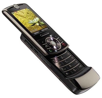 A slider phone.