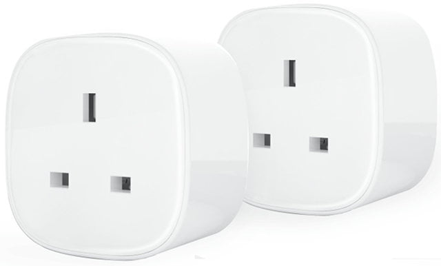 Pair of plug sockets.