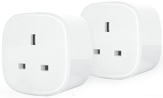 Pair of plug sockets.