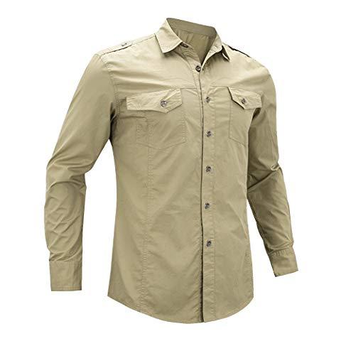 A Khaki shirt.