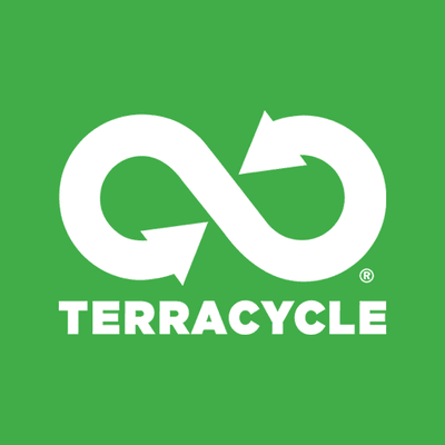 A recycling logo.