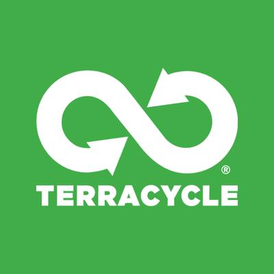 A recycling logo.